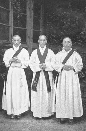 The First three Korean Anglican priests